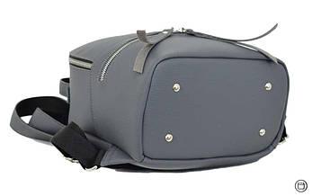 Женский городской рюкзак Case 653 серый, фото 3