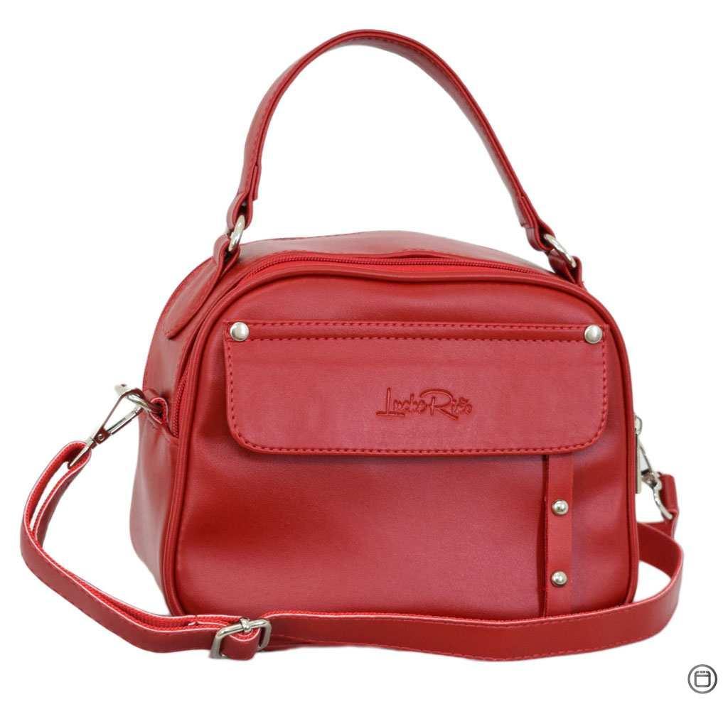 Женская сумка через плечо Case 654 красная