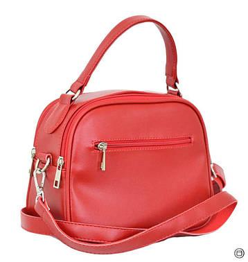 Женская сумка через плечо Case 654 красная, фото 2