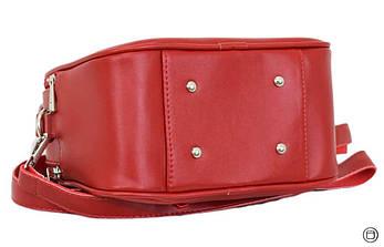 Женская сумка через плечо Case 654 красная, фото 3