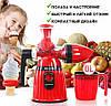 Соковыжималка ручная 2 в 1 Hand Juicer Ice Cream + Овощерезка 6 в 1 в ПОДАРОК!, фото 5