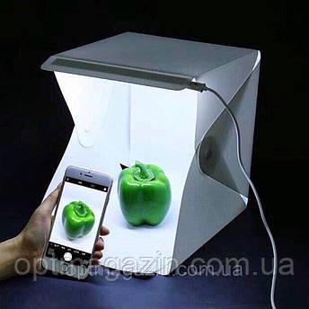 Фото бокс Photo Box з підсвічуванням\ Лайт бокс для предметної зйомки 0,40 cm/0,40 cm, фото 2