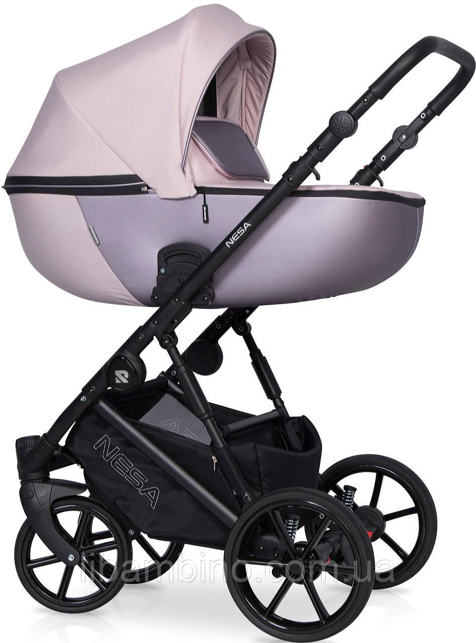 Дитяча універсальна коляска 2 в 1 Riko Nesa 01 Pearl Pink