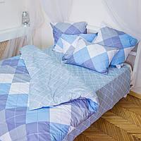 Комплект постельного белья полуторный 1.5 спальный сатин (набір постільної білизни півтораспальний), фото 1