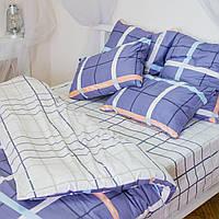 Комплект постельного белья двуспальный 2 спальный сатин (набір постільної білизни двоспальний)