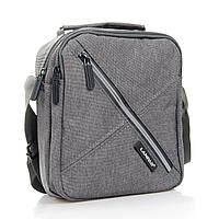 Мужская сумка-планшет нейлон Lanpad 6289 серый, фото 1