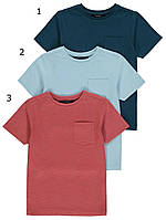 Дитячі літні футболки з кишеньками Джордж для хлопчика (поштучно)