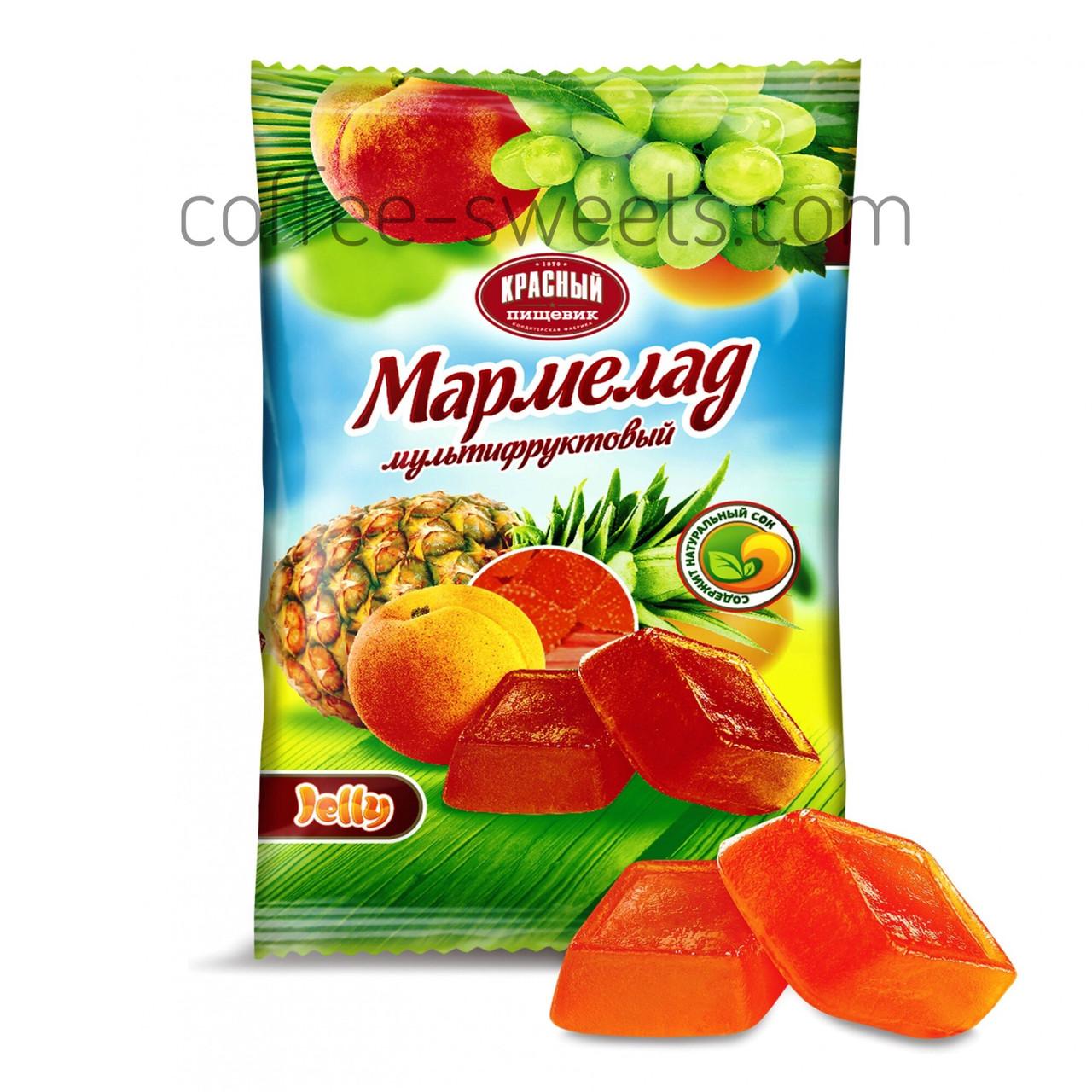 Мармелад мультифруктовый Красный пищевик  300 гр