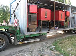 БТК 300 кВт на щепе и пелетах (блочная котельная)