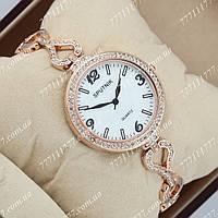 Часы женские наручные Sputnik 995611 Gold/Gold/White