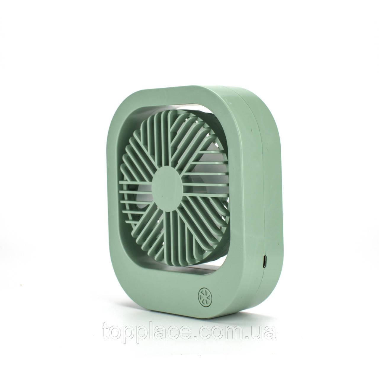 Портативный переносной вентилятор DianDi SQ-2167, Green