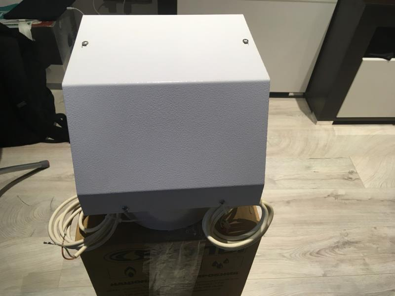 Турбоприставка к котлам  Колви (50 кВт)