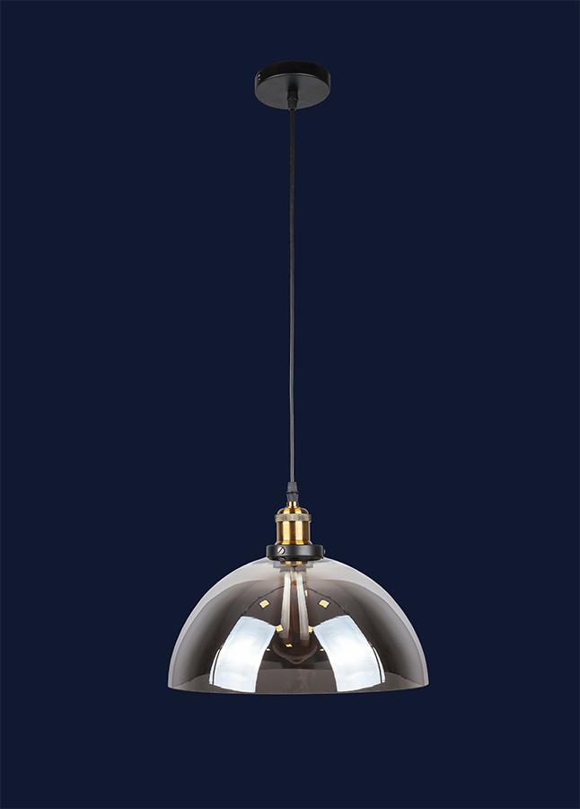 Подвесной стеклянный светильник 7528975-1 BK