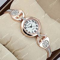 Часы женские наручные Sputnik 995770 Gold-Silver/Gold/White