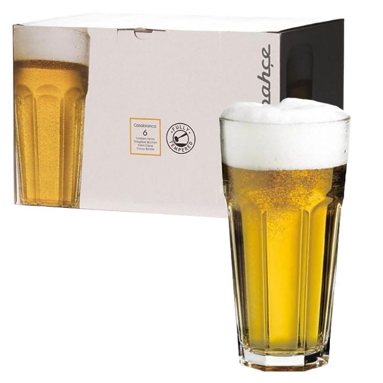 Набор стаканов Pasabahce Casablanca 650 мл 6 шт арт. 52719