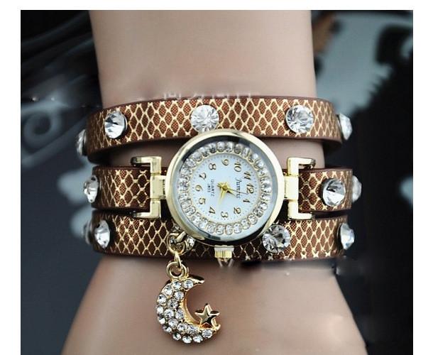 Часы женские Moon brown