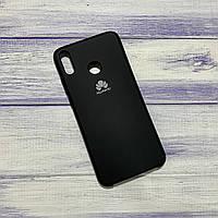Чехол Silicone Case Huawei Honor 8x Черный