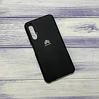 Силиконовый чехол Silicone Case Huawei Honor 20 Черный
