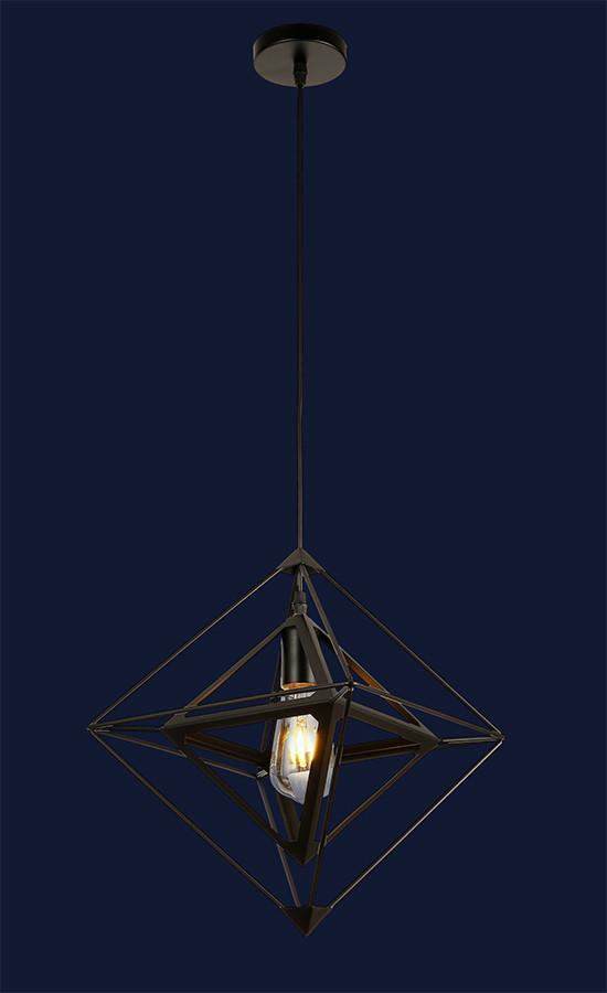 Подвесной необычный светильник 7529705-1 BK