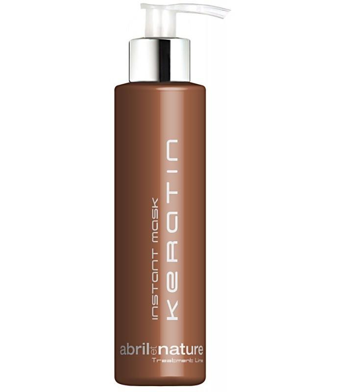 Маска для глубокого восстановления всех типов волос Abril Et Nature Keratin Treatment Line 1000 мл