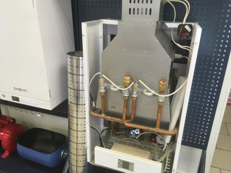 Котёл газовый Колви Евротерм 50 EST (новый,дальний склад)