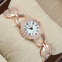 Часы женские наручные Sputnik 995780 Gold/Gold/White