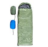 Спальный мешок Green camp 200гр/М2 S1004-GR , фото 2