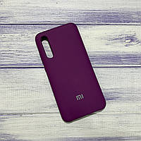 Чехол Silicone Case Xiaomi Mi CC9/Mi 9 Lite Фиолетовый