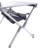 Стол туристический алюминиевый Mimir 007, фото 3