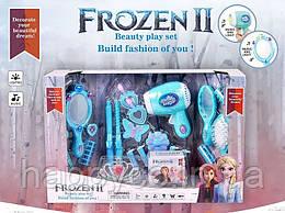 Детский Набор парикмахера Frozen световые и звуковые эффекты