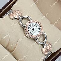 Часы женские наручные Sputnik 995780 Gold-Silver/Gold/White