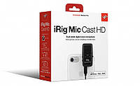 Микрофон для смартфона IK MULTIMEDIA iRig Mic Cast HD (для iPhone, iPod touch and iPad, Mac и Android)