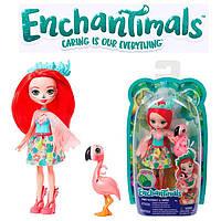 """Кукла Enchantimals """"Фламинго Фенси"""" - Mattel энчантималс"""