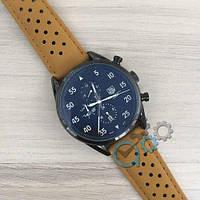 Механические мужские часы TAG Heuer Carrera 1887 SpaceX Automatic All Black CL