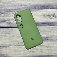 Силиконовый чехол Silicone Case Xiaomi Mi CC9 Pro/Mi Note 10 Зеленый