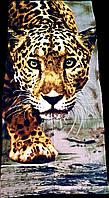 Пляжное полотенце Zeron Тигр 75х150 см (1005936)