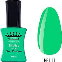 Гель-лак Master Professional 10 ml №111 Зеленый