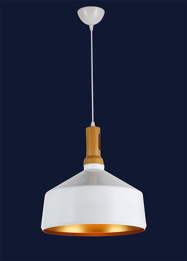Светильник подвесной белый+золото 7546533C-1
