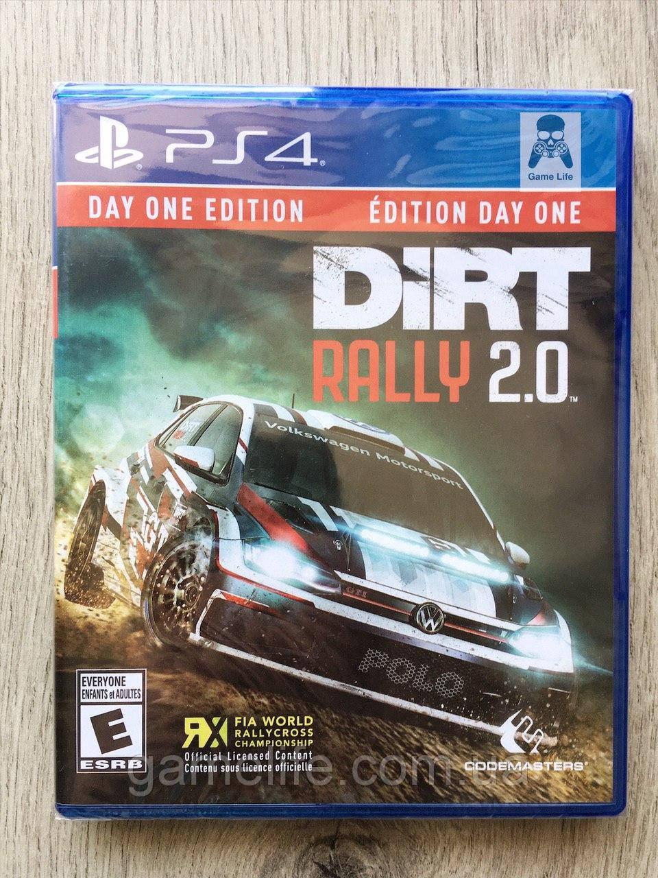 Dirt Rally 2.0 (англ.) PS4