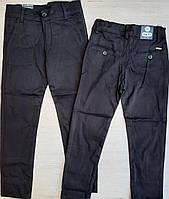 Школьные брюкиподростковые для мальчика 10-13 лет, черного цвета