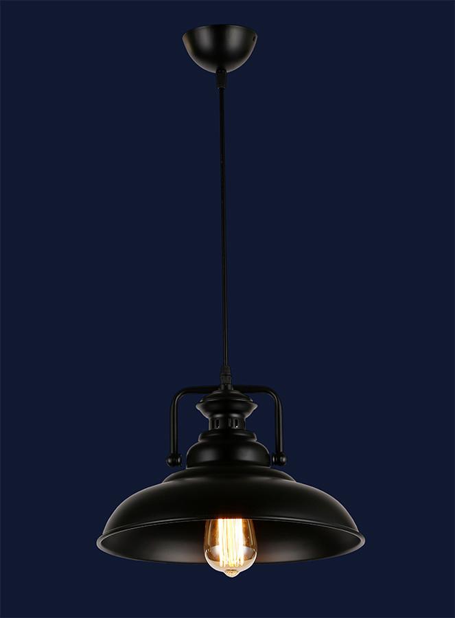 Підвісний світильник чорного кольору 7546622-1 BK(320)
