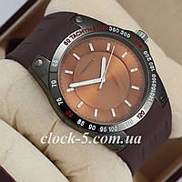 Мужские часы с коричневым ремешком