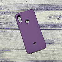 Чехол Silicone Case Xiaomi Redmi Note 7 Сиреневый