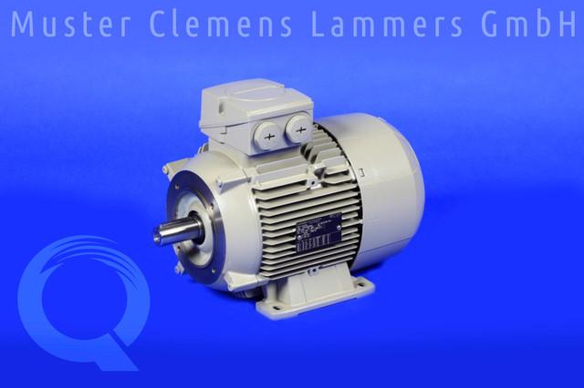 Электродвигатель 1.1кВт, 3х230/400В