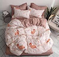 Комплект двуспального постельного белья | Постельное белье из бязи | Бязь GOLD LUX |