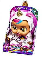 "Интерактивная кукла пупс ""Cry Babies: Magic Tears Dreamy Unicorn- Плачущий младенец Единорог 28см scn"