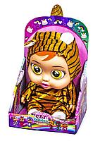 "Интерактивная кукла пупс ""Cry Babies: Magic Tears Nala - Плачущий младенец Нала 28см scn"