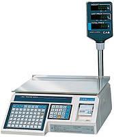 Весы с чекопечатью CAS - LP-R 1.6