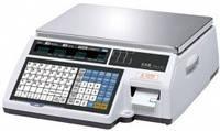 Весы с печатью чека CAS CL5000JB