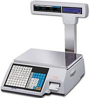 Весы с чекопечатью CAS CL5000JP